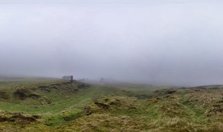 A Foggy Horseshoe Pass - Ponderosa Cafe
