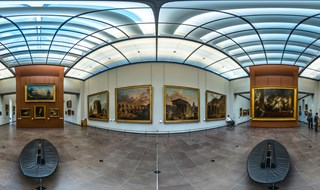 Hubert Robert at Louvre, Sully, Room 49. Paris, 2014.