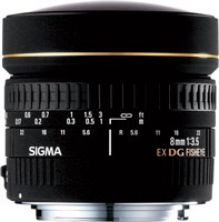 sigma fisheye 8mm