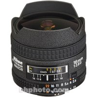 Nikon 16mm Fisheye Lens