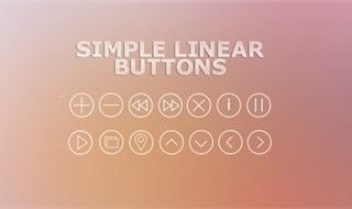 Simple Linear Buttons
