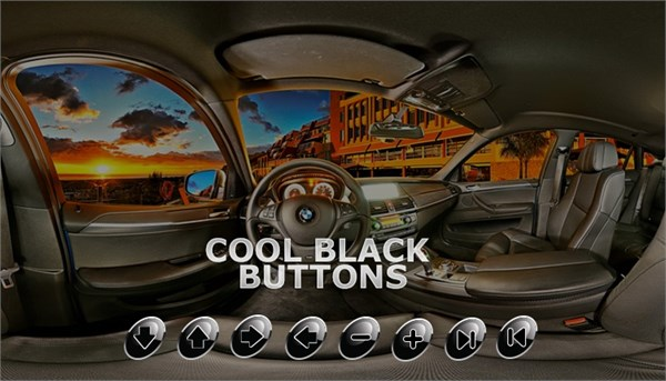 Cool Black Buttons