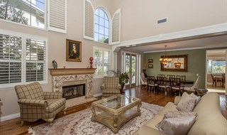 Newbury Park Stunning View Estate - Living Room & Dining Room