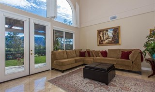 Newbury Park Stunning View Estate - Family Room & Kitchen