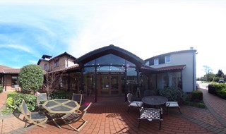 Front Patio, St Clare Hospice