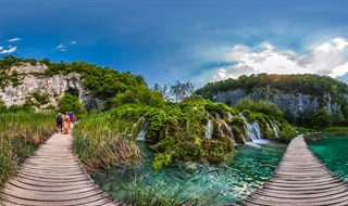 Korana River, Plitvice National Park, 2013.