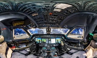 G450 - A 360 Degree Cockpit Panorama