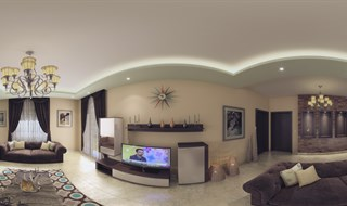 Mr Hassan Dahlab's Living  Room Panorama