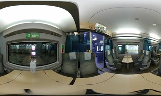 KTX-Sancheon family(table) seat on table