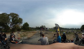 Pumptrack w Tychach 360 panorama