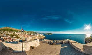 View from Fort Lovrjenac, Dubrovnik, 2016.