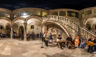 Opening of Exhibition at Rector's Palace, Dubrovnik, 2016.  ------------ croatiapano.com ----------