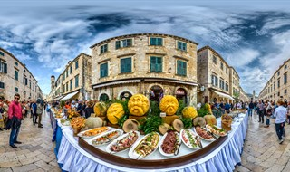 Start at Good Food Festival, Dubrovnik, 2016.