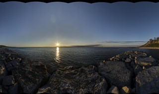 Breakwater sunrise 2