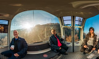 Mount Vodno Cable Car, Skopje, Macedonia, 2016.