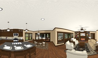 Living Room / Kitchen Area