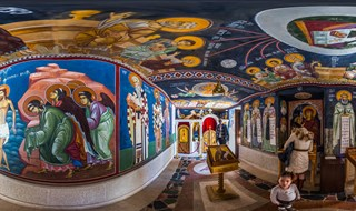 Church of the Holy Cross, Ostrog Monastery, Montenegro, 2017.       a