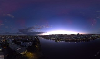 West End Night Pano