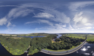 The Rivington Reservoirs Airpano