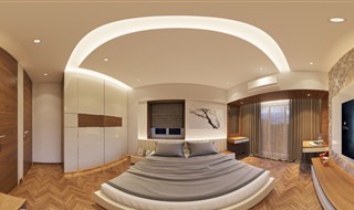 S Shetty Bedroom