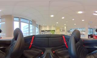 Ferrari California T Interieur - Car - Panoramic Image