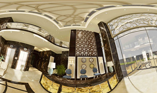 Mr. Ahmed - Hotel Reception -panorama B