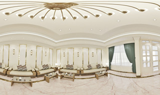interior -Zayed House-HD panorama