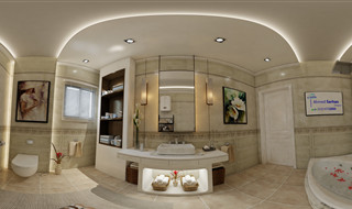 Master Bathroom designed by Ahmed Sarhan - 01014702005