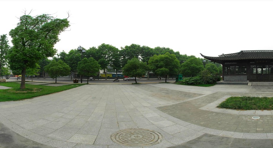 Virtual Landscaping Upload Picture : Ancient canal virtual panorama natural landscape china
