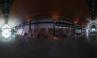 hong mountain ruins museum 360 panoramic image