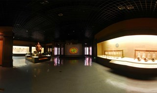 hong mountain ruins museum 360 view