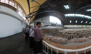 Museum of Qin Terracotta 360 panoramic image