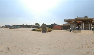 Famen Temple 360 degree travel