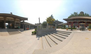 Famen Temple 360 panorama view