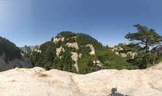 Mount Hua 360 panorama view