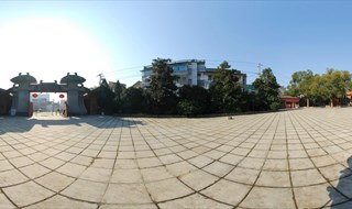 Tomb of King Qian Virtual panorama