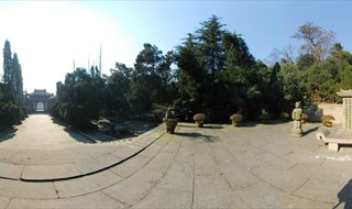 Tomb of King Qian 360 degree photo