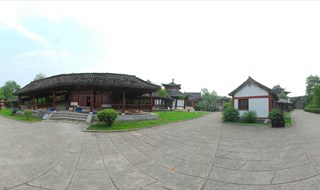 Upper River during Qing Ming Festival 360 degree p