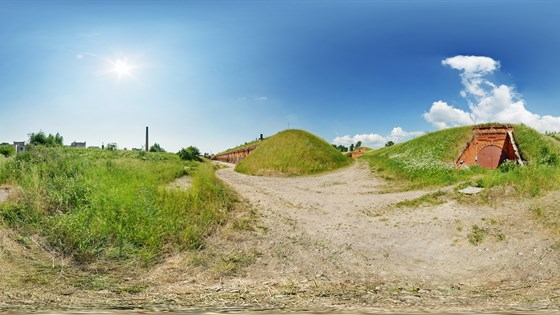 Virtual Landscaping Upload Picture : Kaunas fortress vii fort natural landscape panoramic image