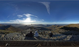 Top of Snowdon, Wales