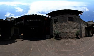 Fenghuang Ancient City Museum 360 panoramic photo