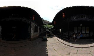 Fenghuang Ancient City Museum 360 panorama view