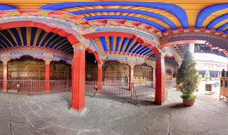 Jokhang Temple 360 panoramic photo