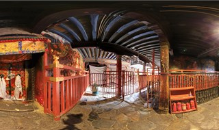 Jokhang Temple 360 virtual panorama
