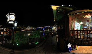 Night view of Fenghuang 360 degree travel