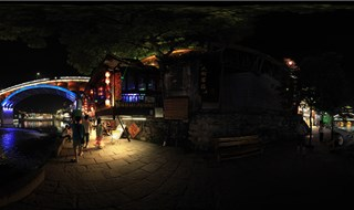 Night view of Fenghuang Virtual panorama