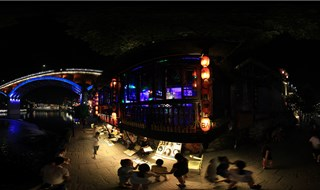 Night view of Fenghuang Virtual view