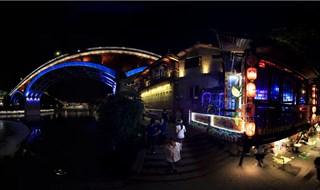 Night view of Fenghuang 360 panoramic view