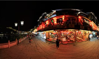 Night view of Fenghuang Panorama VR