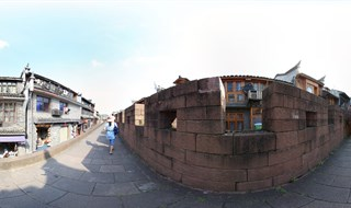 East Gate to North Gate Wall 360 degree travel